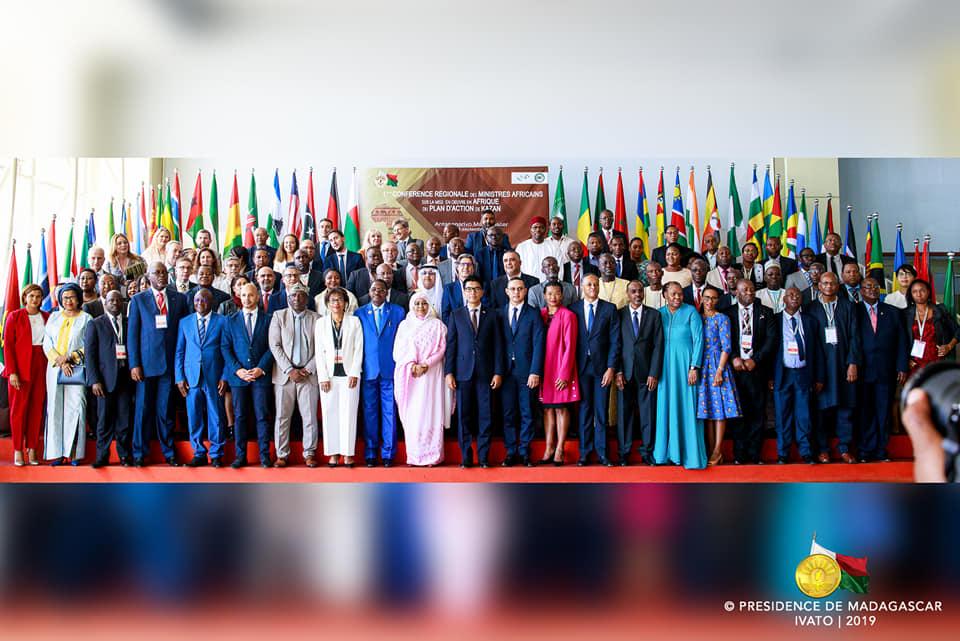 CONFERENCE REGIONALE AFRICAINE DES MINISTRES AFRICAINS SUR LA MISE EN ŒUVRE DU PLAN D'ACTION DE KAZAN